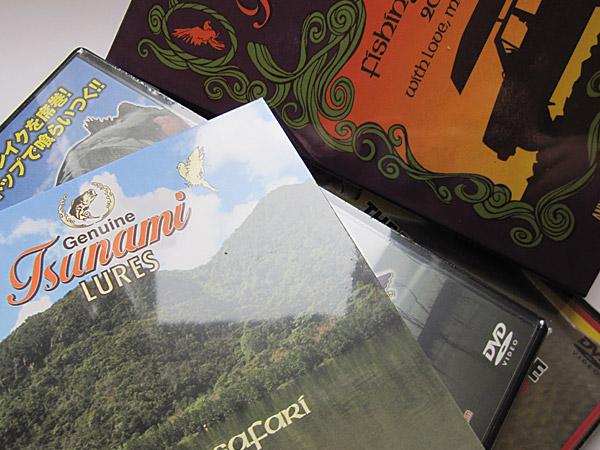 Tsunami Lures - DVD's