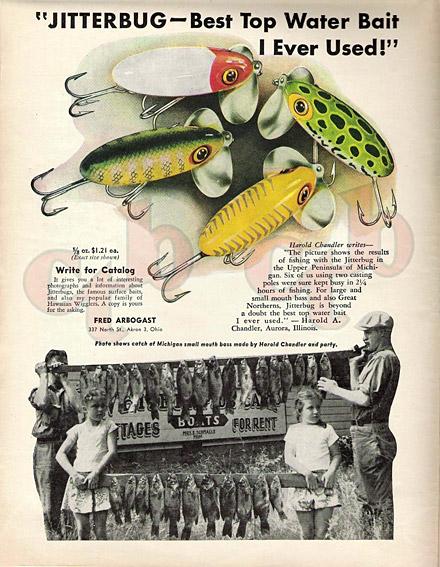 Fred Arbogast's Jitterbug