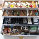 Vintage Umco 175 A tackle box
