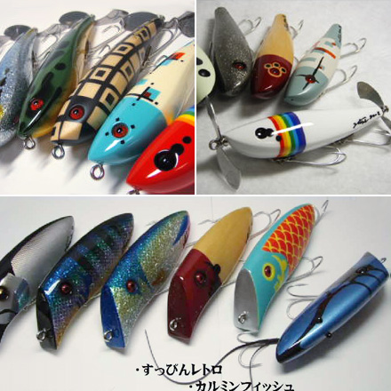 handcrafted topwater lures by 2Tone