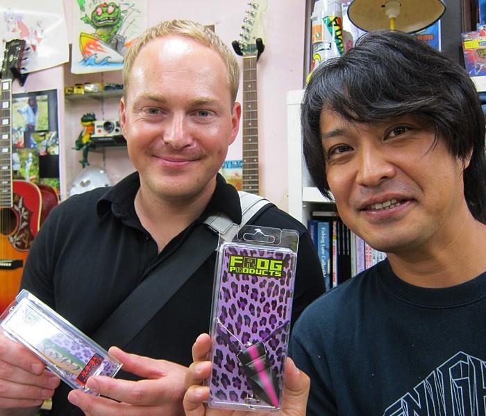 20110731 Kenta Arai & Christian Meinke