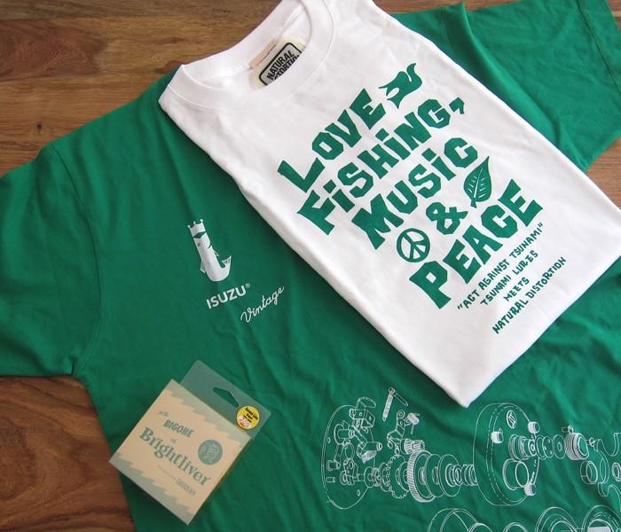 Act Against Tsunami + Isuzu Shirts