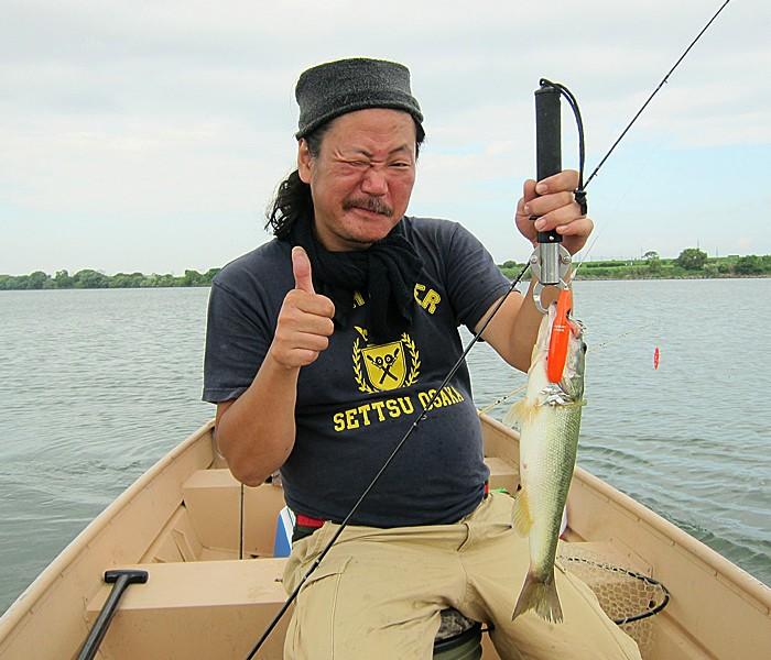 Fujiwara-san w/ Yodo-gawa Bass