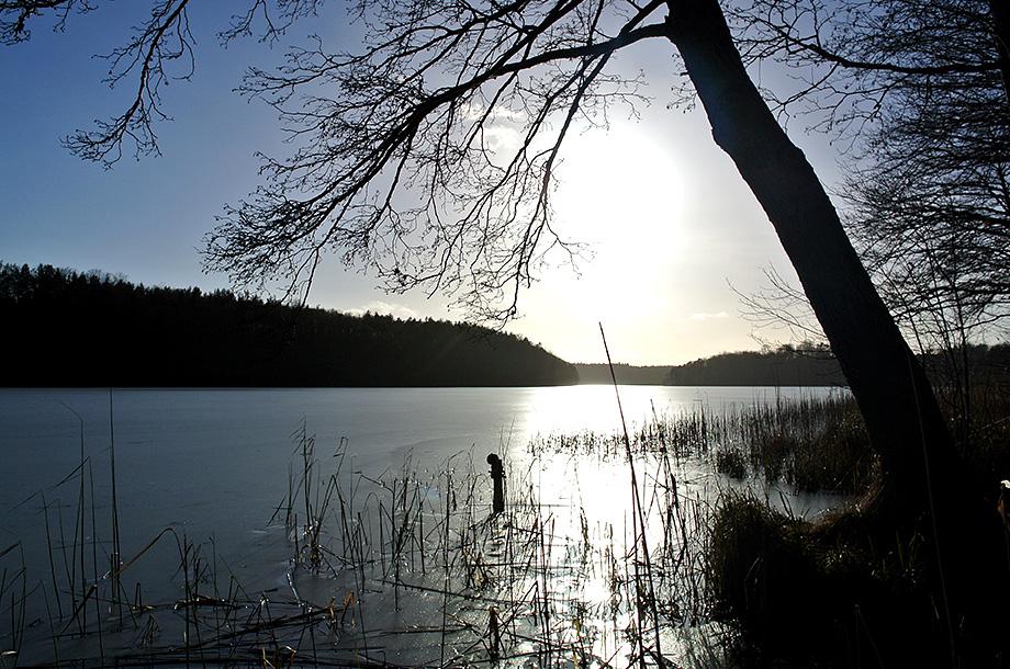 Frozen Liepnitzsee