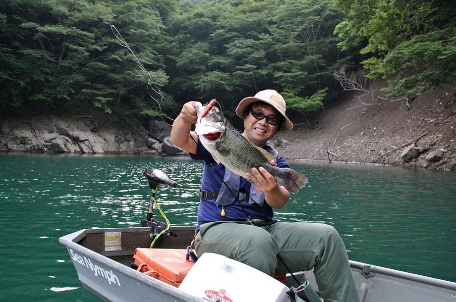 Sarutani-dam Bass