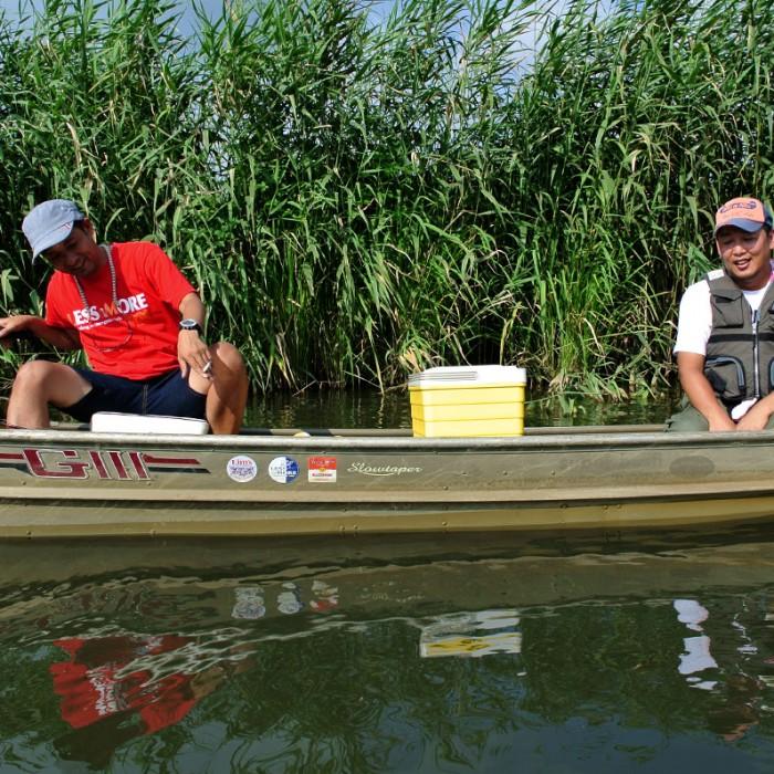 Fishing Ushiku numa