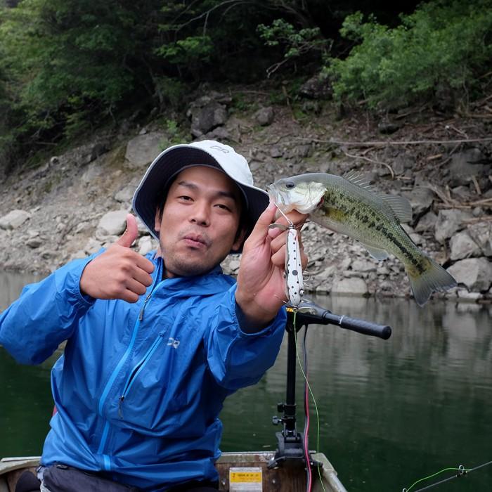 Shichikawa Dam Bass